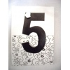 Black and white Table Number
